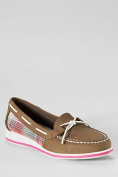 Women's Sport Wedge Boat Shoes from Lands' End, $39.99