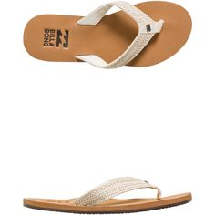 Billabong Kai Sandal. Women's flip flops. Braided thong straps. Cushioned outsole. Printed to heel. Vegan leather. Imported. Vendor Style #: JAFTKKAI.