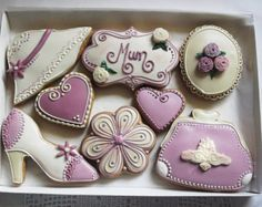 Personalised Mothers Day Cookie Gift Box  (Free UK Delivery)