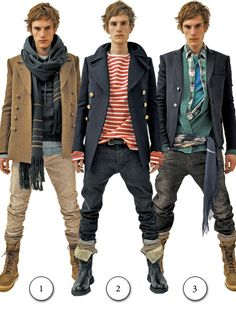 Reminds me of some sheik Mad Max Fashion statement. lol  Men's fashion and style photos | Men fashion
