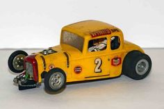 1932 Ford coupe 1/24 scale slot car from the 1960's.