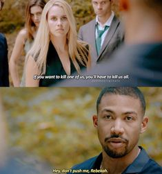 """Oh my god, would Rebekah and Marcel just get it together 😂😂😂, they are really like that song by Pink """"sometimes I just feel like slapping you in your whole entire face at the same time I wanna hug you I want to wrap my hand around your neck"""" 😂😂😂😂 Vampire Diaries Memes, Vampire Diaries The Originals, Niklaus Mikaelson Quotes, The Originals Rebekah, Vampire Look, The Mikaelsons, Hello Brother, Vampier Diaries, A Discovery Of Witches"""