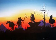 All Along the Watch Tower Native American Warrior, Native American Artwork, Native American Beauty, American Indian Art, Native American Indians, Indian Paintings, People Art, First Nations, Street Art