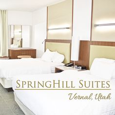 Looking for a hotel near Utah's Dinosaurland? A review of SpringHIll Suites Vernal from tipsforfamilytrips.com