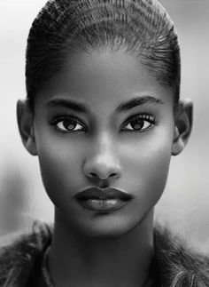 High cheekbones, to jaw. Eyes slanted up and away and low hairlin. High cheekbones, to jaw. Eyes slanted up and away and low hairline: Black Beauty, Beautiful Black, Be My Black Is Beautiful, Beautiful Eyes, Beautiful Goddess, Simply Beautiful, Beautiful Pictures, Beautiful Drawings, Beautiful African Women, Gorgeous Lady, Most Beautiful Models