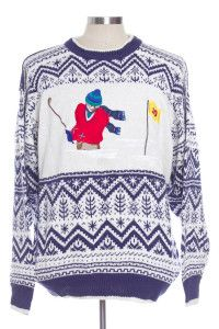 Multicolor Ugly Christmas Pullover 29672