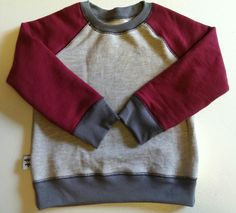 Tröja i sweatshirttyg #barnkläder #syrradesign