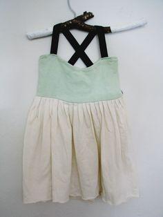Minty Dress. Cauliflower Children's Clothing