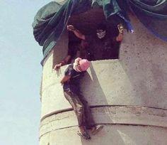 PHOTOS: ISનાં આતંકવાદીઓને એના જ અંદાજમાં મારે છે ઈરાકી સૈનિકો International News, Revenge, Photos, Pictures