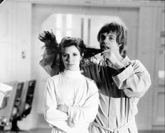 Star Wars: Brothers are always picking on there sisters.