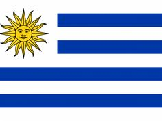 Uruguay flag strips mean nine provinces at time of liberation. White means peace honesty. Blue means the sky and the blue coastal water- vigilance truth and loyalty perserance and justice. Sun means the sky of may sysmbol of freedom and independence