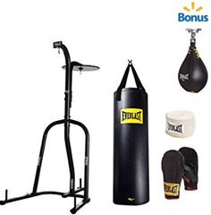 Everlast Dual Station Heavy Bag Stand with Kit and Speedbag Value Bundle for Sale Best Punching Bag, Heavy Punching Bag, Mma Gloves, Boxing Gloves, Heavy Bag Stand, Mma Gym, Bag Hanger, Hangers, Mma Training