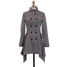 Double Breasted Coat, $65, now featured on Fab.