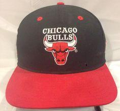 3290aa930a1 Vintage Chicago Bulls Twins Enterprise Backtalk Snapback Hat