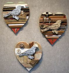 Suporte feito com restos de madeira