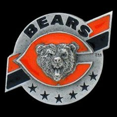 """Checkout our #LicensedGear products FREE SHIPPING + 10% OFF Coupon Code """"Official"""" Chicago Bears Team Pin - Officially licensed NFL product Licensee: Siskiyou Buckle Classic lapel pin   Chicago Bears - Price: $15.00. Buy now at https://officiallylicensedgear.com/chicago-bears-team-pin-sfp006"""