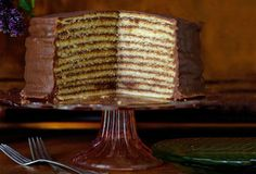 Trisha Yearwood's Chocolate Torte   Chocolate Cake Recipe   Leite's Culinaria