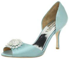 designer shoes | satin_blue_discount_designer_shoes_2013_Badgley-Mischka.jpg