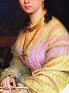 Portrait of a Woman by Ivan Kramskoi,
