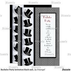 Gentlemen Bachelor Party Invitations Bachelor Party Invitations - Bachelor party invitation template