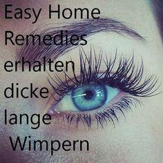 Easy Home Remedies erhalten dicke lange Wimpern