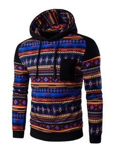 SHARE & Get it FREE | Join RoseGal: Get YOUR $50 NOW!http://m.rosegal.com/mens-hoodies-sweatshirts/ethnic-style-printed-hoodie-659272.html?seid=6667561rg659272