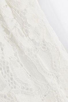 SEA - Lace-paneled Pintucked Cotton-poplin Top - White - US10