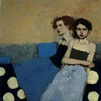 Solitude of Two / oil / 20 x 20 in. / $11,500