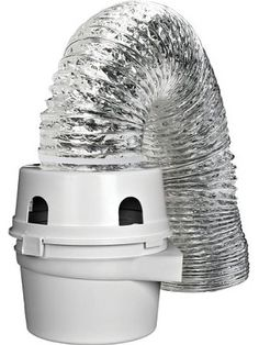 Use Dundas Jafine ProFlex Indoor Dryer Vent Kit to vent your electric clothes dryer indoors when outdoor venting is not possible. Indoor Dryer Vent, Best Dryer, Laundry Dryer, Front Load Washer, Clothes Dryer, Belle Villa, Washer And Dryer, Home Improvement, Houses