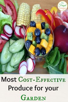 Get the most out of your garden this year by planting these cost-effective produce. Your wallet will thank you!