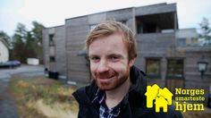 Passiv-pluss-funkis-smarthus: - Jeg vil inspirere andre til å bygge energivennlig. Da kan du ikke ha noen sære greier ingen vil ha, sier elektriker Geir Mikkelsen i Mellomhagen i Larvik.