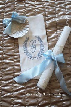 Batizado | Ursinho Vela | Concha | Toalha  baptism decoration // party decorations ideas // little bear