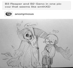 Geno x reaper