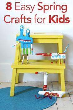 8 Easy Spring Crafts for Kids - Parenting.com
