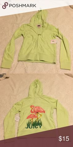 fdc808c0a2c Juicy Couture Hoodie Girls size L hoodie Juicy Couture Tops Sweatshirts    Hoodies