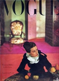 Dorian Leigh, Vogue US, April 1946