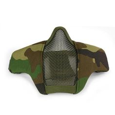 53f01150c5827 Mask Airsoft Military Prints Lower Half Face Metal Steel Mesh Net Tactical  Protective Paintball Face Gaurd