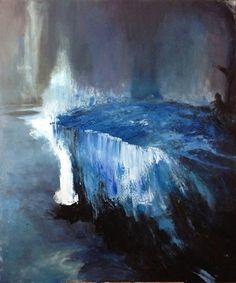 """Saatchi Online Artist Lorraine Fossi; Painting, """"Rest in Blue"""" #art"""