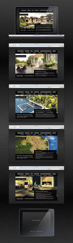 Reality estate company. Web site, presentation, photography.