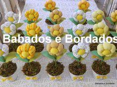 Babados & Bordados: Flores!