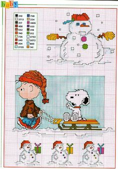 Winter fun with Charlie Brown & Snoopy