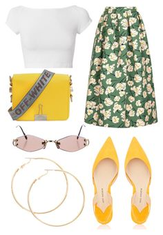 """""""Untitled #28"""" by theaclemetsen on Polyvore featuring Paul Andrew, Rochas, Helmut Lang, Off-White and Cartier"""