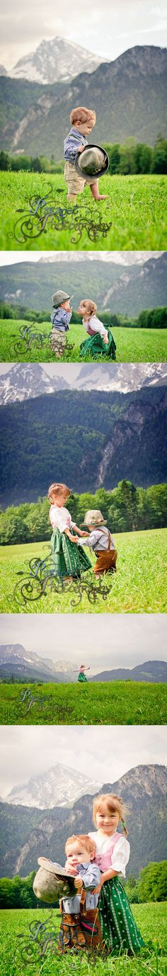 Sound of Music: A simple DIY tutorial for a Bavarian or Alpine themed children's cosplay or photo shoot with costume, prop, and location ideas from findingstorybookland.com