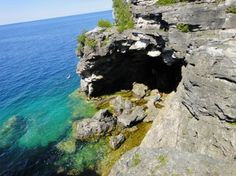 The Grotto (Tobermory) : 2018 Ce qu'il faut savoir pour votre visite - TripAdvisor Travel 2017, Canada Travel, Beaches In Ontario, Places To Travel, Places To See, Stuff To Do, Things To Do, Summer Activities, Travel