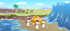 """Waters Part and Walls Fall"": The Newest Story in the Bible App for Kids 