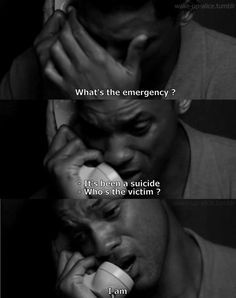 Will Smith in Seven Pounds. Love this movie. Will Smith is great! Dirty Dancing, Sad Movies, Movie Tv, Sad Movie Quotes, Funny Quotes, Pulp Fiction, Grease, Will Smith Movies, How I Feel