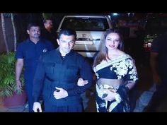 Karan Singh Grover & Bipasha Basu at Amitabh Bachchan house for Diwali party 2016.