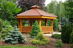 hexagonal gazebo design