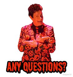 """""""David S. Pumpkins - Any Questions? II"""" by Shappie112 