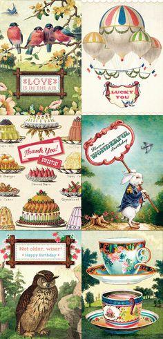 gorgeous stationery goods of Cartolina Cards